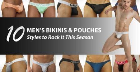 Mens Bikinis and Pouches - Ergowear