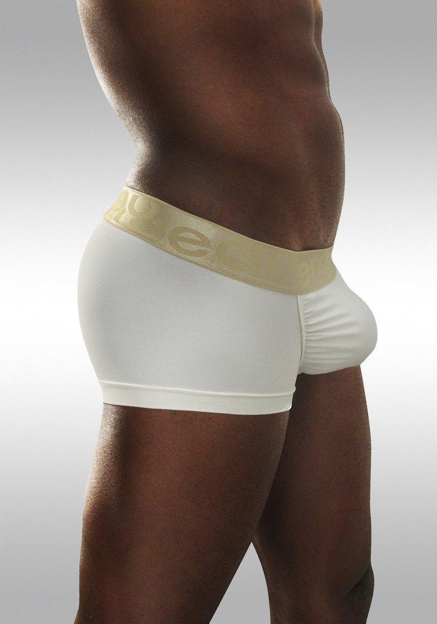 FEEL Classic XV - Men's Pouch Boxer - White/Gold - Side