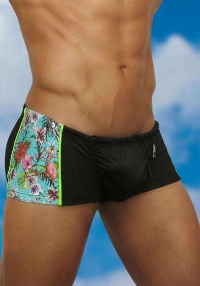 Men's Mini Trunk Swimwear Feel Flamingo - Side view