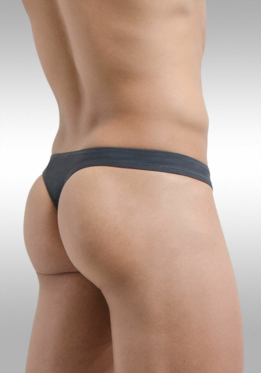 X4D Thong Space Grey | Back view