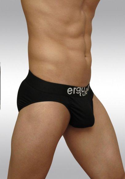 FEEL classic ergonomic men's pouch brief black - side