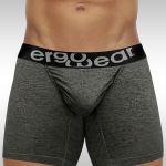 FEEL Modal Long Boxer Gray - Front view