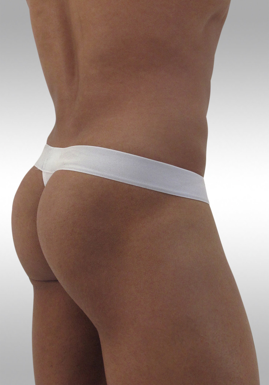 MAX Modal Thong  White - Back