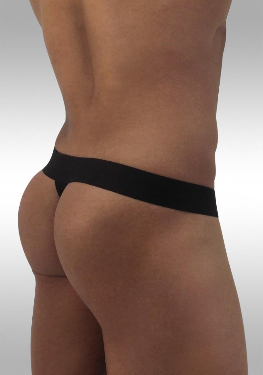 MAX Modal Thong Black - Front