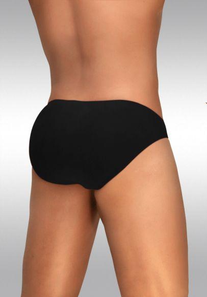 Feel Modal Bikini Black - Back View