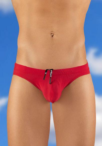 X4D Swim Bikini Red - Front View