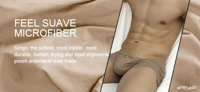 Mens Underwear with Pouch Feel Suave